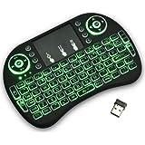 2,4 GHz Mini Mobil Kablosuz Klavye Dokunmatik Yüzeyli Mouse ile Şarj Edilebilir Li-Ion Batarya Samsung UA55D7000LM 140 cm Sma