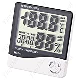 Cubic Indoor/ Outdoor Hygro-Thermometer Temp. Humidity Meter - Best Reviews Guide