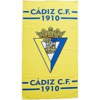 Cádiz CF Toacad Toalla, Azul/Amarillo, Talla Única