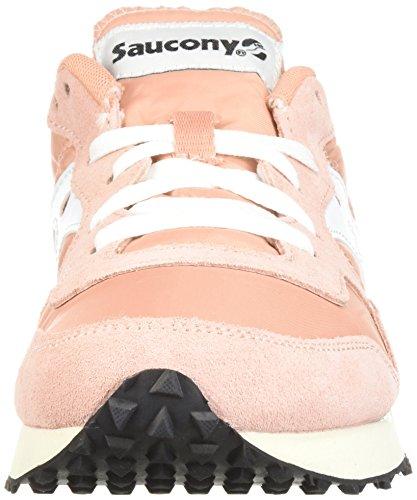 Saucony Damen DXN Trainer Vintage Gymnastikschuhe Peach / Weiß