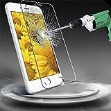 Questa protezione dello schermo per iPhone 6s iPhone è realizzato in vetro temperato reale per proteggere il vostro schermo LCD da danni e graffi ed è rinforzata per aumentare la capacità di assorbimento d'urto. La protezione dello schermo è ...