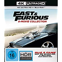 Fast & Furious - 8-Movie Collection - 4K UHD