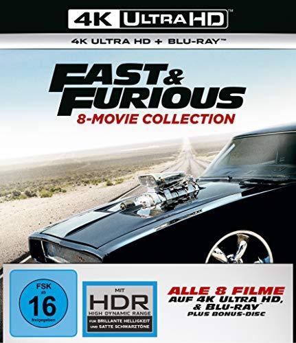 Fast & Furious - 8 Movie Collection (exklusiv bei Amazon.de) [Blu-ray]