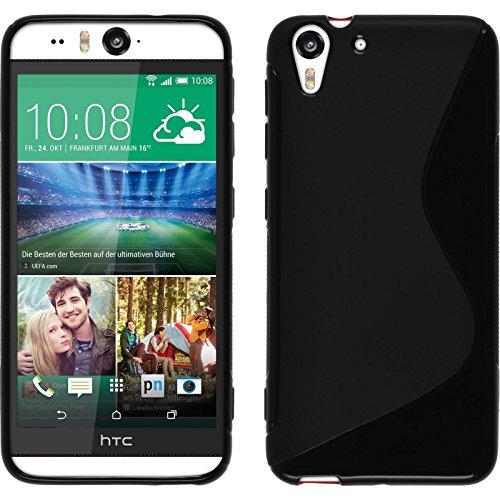 PhoneNatic TPU-S Schutzhülle für HTC Desire Eye schwarz