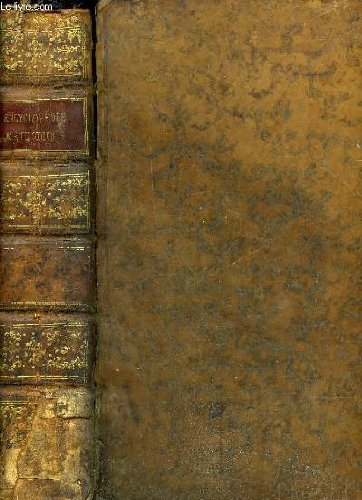 ENCYCLOPEDIE METHODIQUE - HISTOIRE NATURELLE, BOTANIQUE