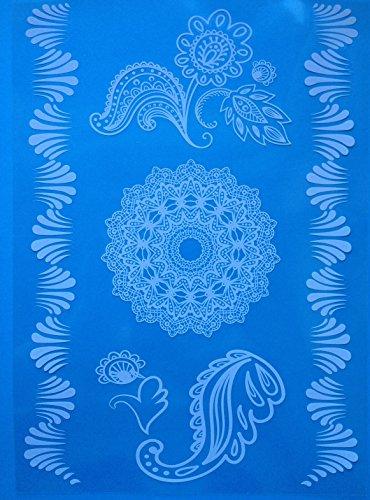Mandala Henne Tatouages temporaires Blanche Henna Style wx170 pour le corps Bijoux corporel