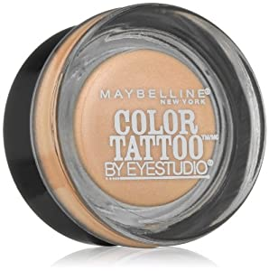 Maybelline New York Eye Studio Color Tattoo Metal 24 Hour Cream Gel Eyeshadow, 0.14 Ounce (Barely Branded)