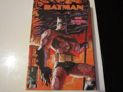 BATMAN 9 jeux de guerre 5/7 PANINI COMICS (FEV 2006)
