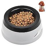 petacc auslaufsicher Pet Schüssel tragbar Wasser Schüssel Reise Schüssel für Hunde und Katzen, GRAU