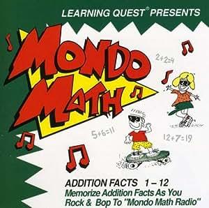 Mondo Math:Addition Facts 1-12 [Import allemand]