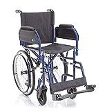 Rollstuhl – Rollstuhl – fahrbar – faltbar – faltbar – Modell SKINNY – GOMME PIENE – Gr. Sitzfläche: 40 cm.