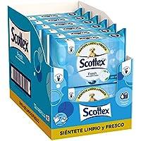 Scottex Fresh Papel Higiénico Húmedo - 12 packs x 40 (480 unidades)