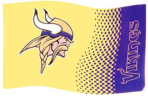 Minnesota Vikings Fahne - Flagge 152cm x 91cm NFL Fanartikel Fanshop