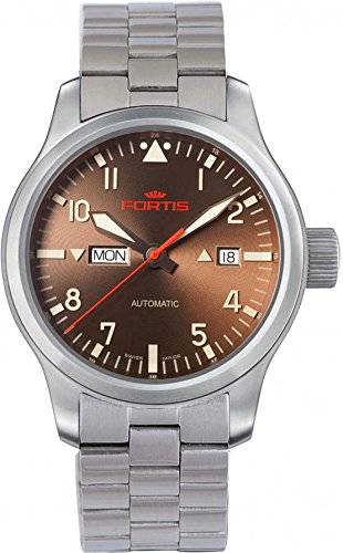 Fortis B-42 Aeromaster Dawn 655.10.18.M Automatic Mens Watch Excellent readability