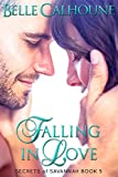Front cover for the book Falling in Love by Belle Calhoune