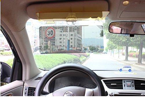 mitef Windschutzscheibe Auto Sonnenschutz und Seite Fenster Sunvisor Extender für Ultimate UV-Schutz für Fahrer - Shade Seite Auto Fenster