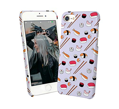 Sushi Japan Food Pattern_010142 Phone Case Cover Handyhulle Handyhülle Handy Hülle Schutz for iPhone 6 iPhone 6s Funny Gift Christmas - Japan Cover Phone