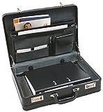 Leder-Aktenkoffer von Dermata - 45,5x33x11/13cm (1205PS)