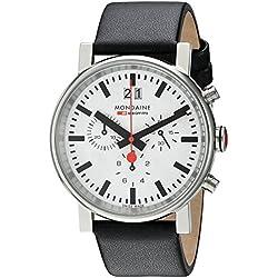 Mondaine Herren-Armbanduhr SBB Evo Chronograph 40mm Analog Quarz A690.30304.11SBB