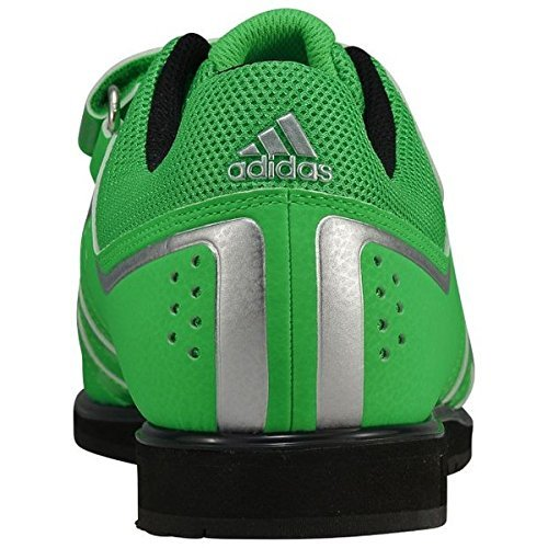 Adidas Powerlift 2 Mens Weightlifting Shoes Green Size 12.5 UK