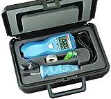 Starrett s7793z Kontakt und Digital Tachometer Kit, 17,6cm Höhe, 6,1cm Breite, 4,1cm Tiefe, 210g Gewicht