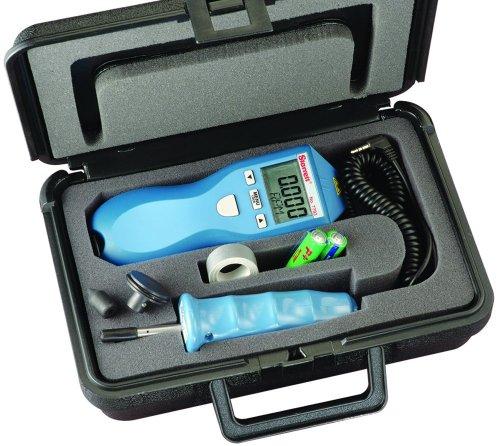 Starrett s7793z Kontakt und Digital Tachometer Kit, 17,6cm Höhe, 6,1cm Breite, 4,1cm Tiefe, 210g Gewicht (Kontakt-tachometer)