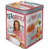 Nostalgic-Art Teedose - Tealicious & Tearrific (für 100g)