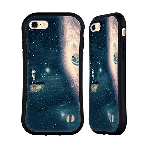 Ufficiale Paula Belle Flores La Mia Casa Da Sogno Spazio Surreale Case Ibrida per Apple iPhone 7 / iPhone 8 Solo Un Gioco