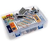 Sunkee Arduinos kit de démarrage pour Arduinos Uno R3support pour les capteurs, écrans LCD, moteurs et ainsi de Suite (32pièces)