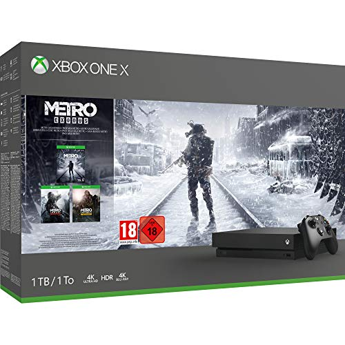 Xbox One X Metro Saga Bundle 1TB  (Xbox One) Best Price and Cheapest