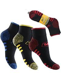 6 Paar MT® Herren Arbeits- und Freizeit Kurzschaft Sneaker Socken - Funktionssocken - Venenfreundlich und belastbar. - Top Qualität von celodoro