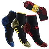 6 Paar MT® Herren Arbeits- und Freizeit Kurzschaft Sneaker Socken-43-46