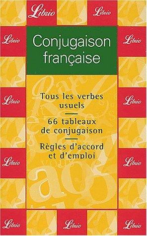 Conjugaison française par Anonyme