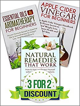 NATURAL REMEDIES: A Box Set of: Natural Remedies, Essential Oils, Apple Cider Vinegar (Home Remedies Book 1) (English Edition) von [Jacobs, Jessica]