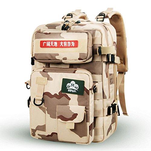 DBZD Professionelle Bergsteigen Tasche Outdoor Multifunktions-wasserdicht Camping-Paket, große Kapazität B