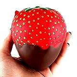 Gusspower 11cm Kreative Schönes Schokoladensauce Erdbeere Cartoon Spielzeug - Süß - Geburtstagsgeschenk - Kindertag Geschenk - Jungen und Mädchen - Dekoration