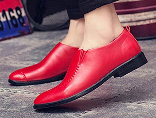 Insun , Herren Bootsschuhe Rot
