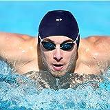 Mi Swim Cap Para Hombres: gorro de natación (neopreno, se mantiene en aguas difíciles sin una...