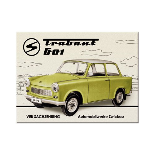 Nostalgic-Art 14218 Trabant - Trabant 601, Magnet 8x6 cm