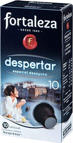 Café FORTALEZA - Cápsulas de Café Despertar Compatibles con Nespres