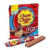 Chupa Chups Choco Crunchy Milk - 18 Confezioni da 5 barrette [90 barrette]