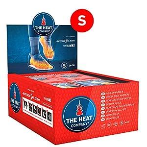 THE HEAT COMPANY Sohlenwärmer – EXTRA WARM – Wärmesohlen – Fußwärmer – 8 Stunden warme Füße – sofort einsatzbereit – luftaktiviert – rein natürlich – Größe SMALL: 36-38 – 5 oder 30 Paar