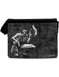 Offizielles Lizenzprodukt Batman - Joker Bang Messenger Bag, Umhängetasche