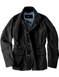 HUGO BOSS Herren Jacke Jack modisches Langarmoberteil Uni & Uninah, Größe: 50, Farbe: Schwarz