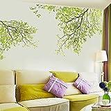 Ouneed® Wandaufkleber Wandtattoo Wandsticker , Natur Blätter Home Haushalt Zimmer Wandaufkleber Mural Decor Decal Removable Neu