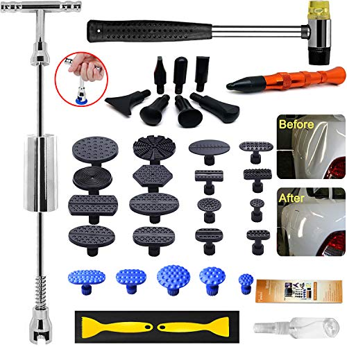 Tool Sets Hail And Door Ding Repair Starter To Suit The PeopleS Convenience Sensible Set 11 Pieces Auto Body Dent Removal Pdr Rod Tool Kit