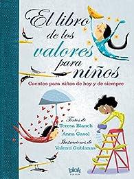 El libro de los valores para niños par Anna Gasol