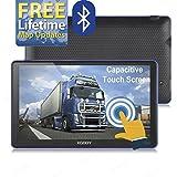 xgody 88617,8cm integriertem 8GB RAM/256MB ROM Kapazitive Touchscreen gesprochen Turn-by-Turn Richtungen SAT NAV Auto Truck GPS Navigation mit Sonne Schatten Speed Limit zeigt Unterstützung Lebenslange Kartenupdate