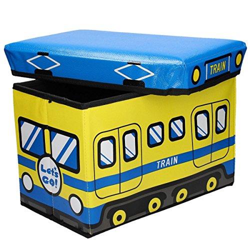 Caja Plegable con Tapa para guardar acolchado y sentado con fröhlichem Diseño