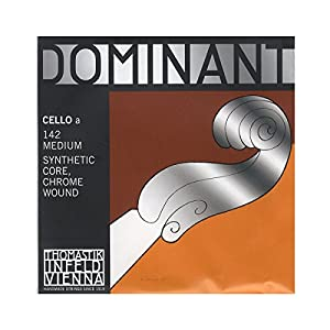 Dominant Strings 142 Chrome Wound Cello A String